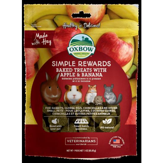 Simple Rewards Baked Treats with Apple & Banana