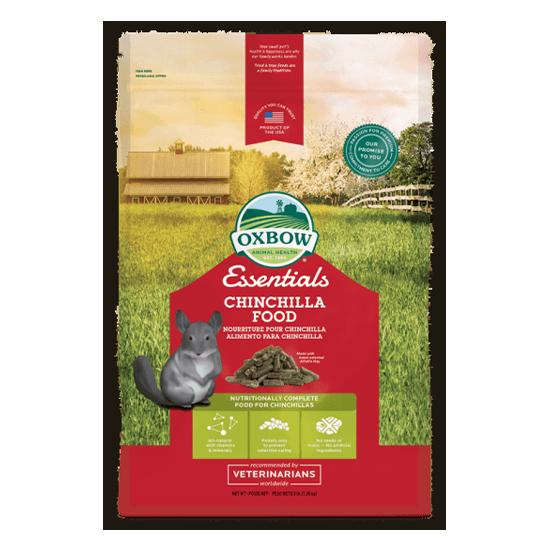 Essentials – Chinchilla Food