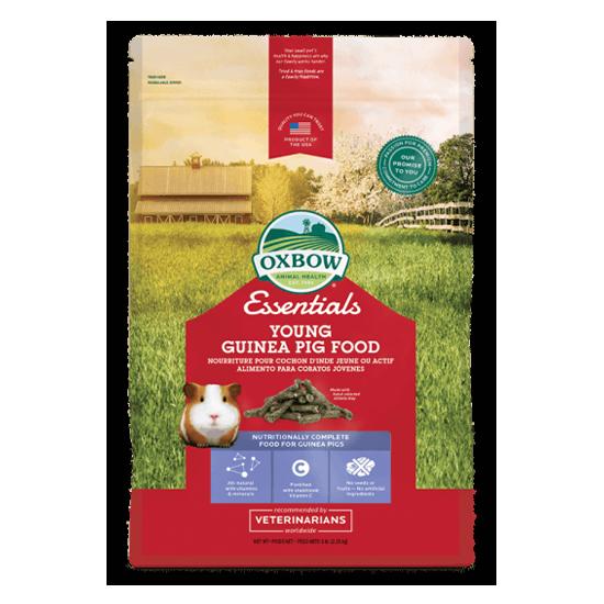 Essentials – Young Guinea Pig Food